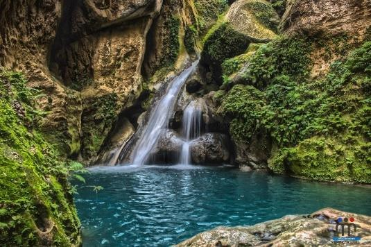 Bassin Bleu, Jacmel, Haiti. South Department