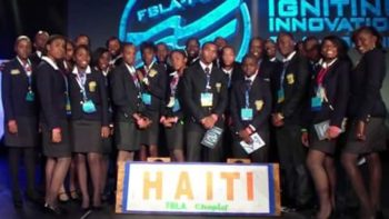 Haitian team at 2013 Future Business Leaders of America's National Leadership Conference